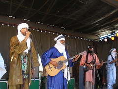 Tinariwen at Sf Brewing Company last month