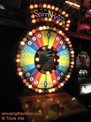 Spin-N-Win at Eldorado Arcade, Coney Island. Photo © Tricia Vita/me-myself-i via flickr