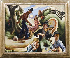 Thomas Hart Benton - The Ballad of the Jealous...