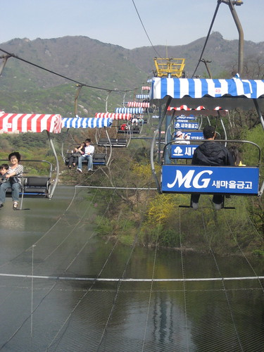 Skylift at Seoul Grand Park, Gwacheon