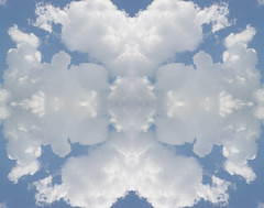 Cloudblotting (Jason A. Samfield) Tags: blue white clouds daylight day daytime cloudscape cloudscapes billowing cloudformations billowingclouds