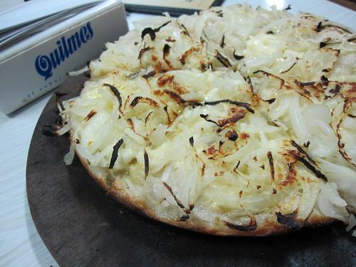 Fugazzetta @ El Cuartito Pizza - Buenos Aires, Argentina