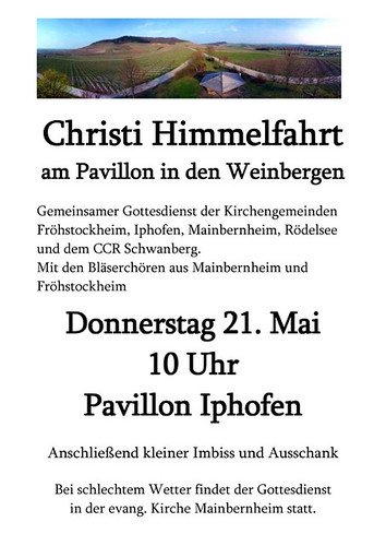 Himmelfahrtsgottesdienst Plakat 2009web