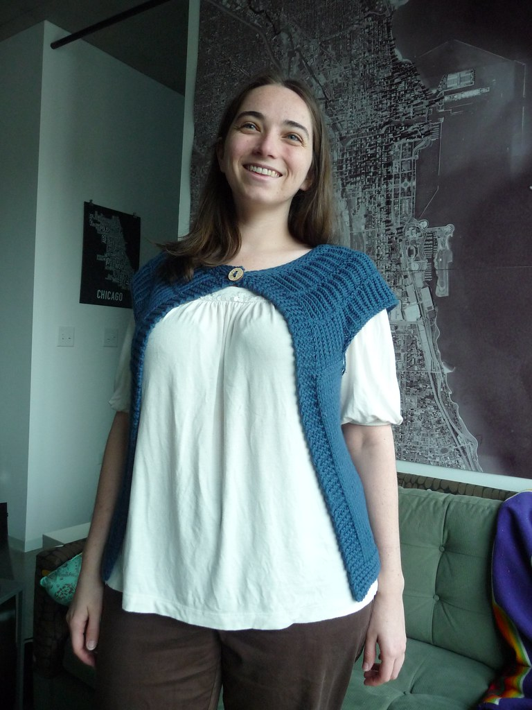 Front of Shalom Cardigan
