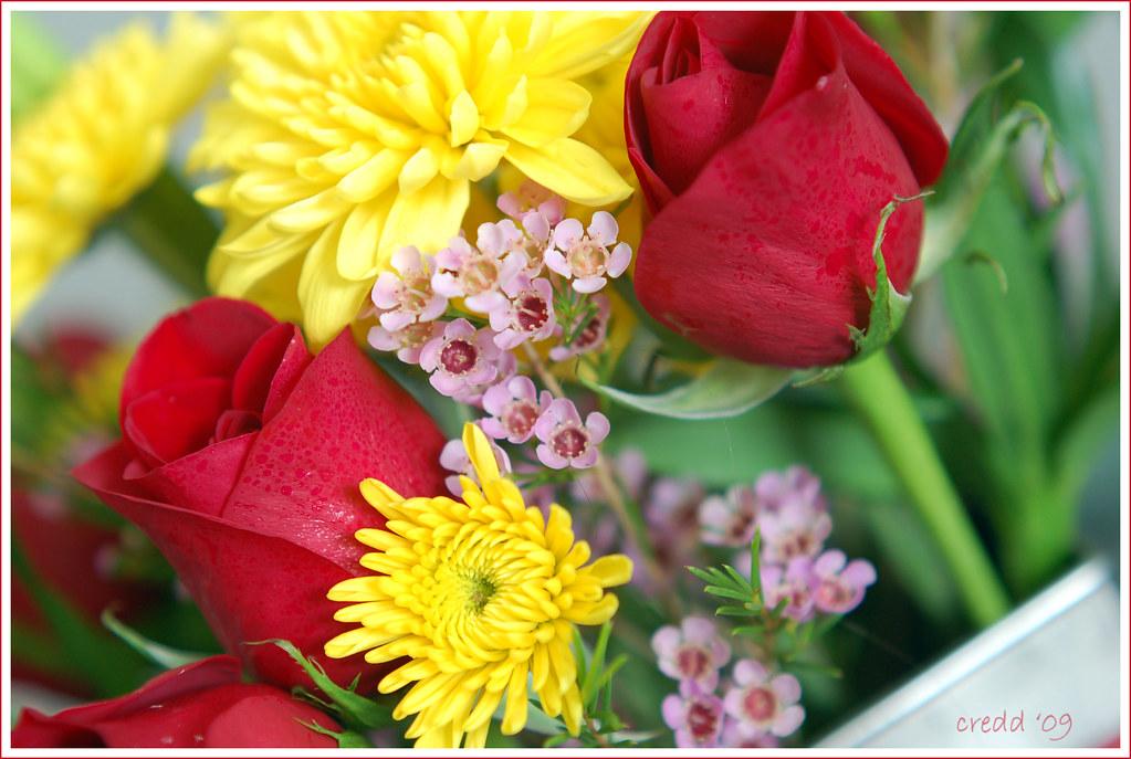 anniversary flowers...