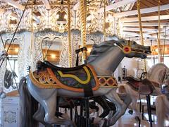 Looff carved carousel horse (TooFarNorth) Tags: spokane carousel merrygoround carrousel looff