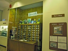 Dartford Museum, Kerr's shop display (davepatten) Tags: wood shop museum kent counter label draw reconstruction dartford kerrs