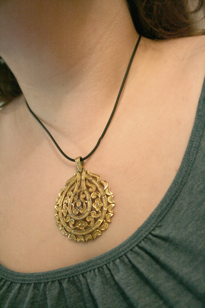 trifari pendant