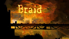The Braid Title Screen