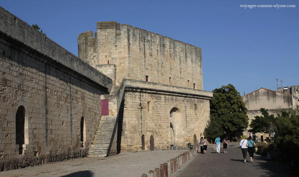 As muralhas são imponentes