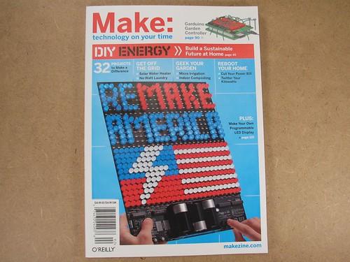 Make vol 18 cover