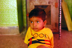 golden child (vineetdiwadkar) Tags: city india boys water children nikon child indian maharashtra pune act slum mega sra rehabilitation wasti d80 gosavi