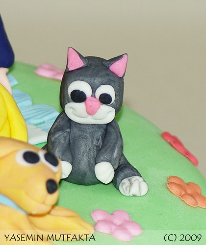 Surpriz Pasta (Kedi) / Surprise Cake (Cat)