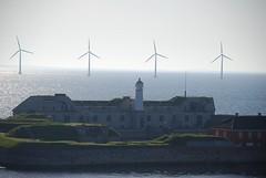 Sea Fortress (Johnh111003) Tags: lighthouse castle copenhagen denmark nikon citadel baltic naval fortress eco turbine windfarm renewableenergy balticcruise d80 johnh111003