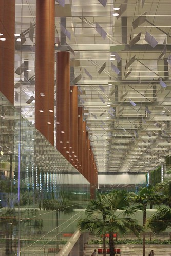 at the Terminal 3, Changi Airport