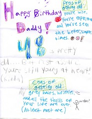 Birthday Card from Shayna - 5-26-09