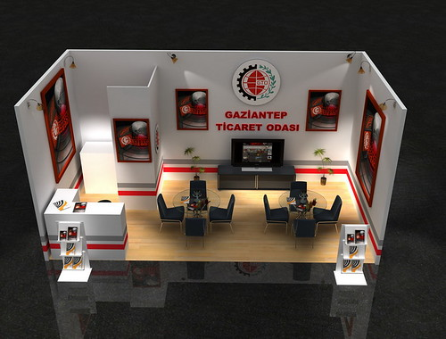 GTO Gaziantep Ticaret Odası Fuar Standı