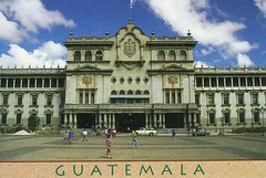 Guatemala postcard in 1998 (wallygrom) Tags: latinamerica guatemala postcard palace palacionacional centralamerica palacio centroamerica guatemalacity ciudaddeguatemala