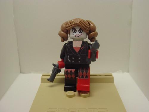 Harley Quinn custom minifig