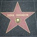 Susan Sarandon's star on the Hollywood Walk of Fame