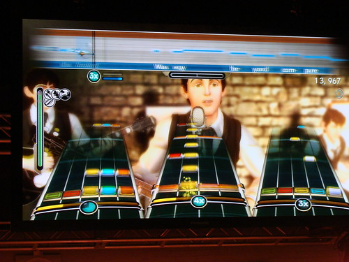 juego The Beatles: Rock Band interfaz