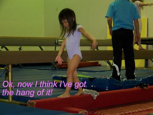 June 09 First Gymnastics Class  048