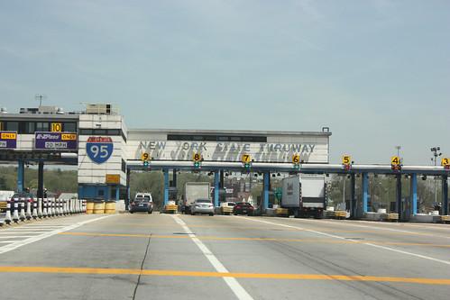 New York State Thruway Toll Booth