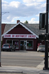 That's putting it mildly... (Herbert Harper) Tags: mainstreet montana bozeman utility shame electriccompany nwe passingthebuck bozexplod northwesternenergy deregulationwasascam