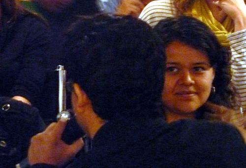 Irene y chema en el Cine Club Revolución