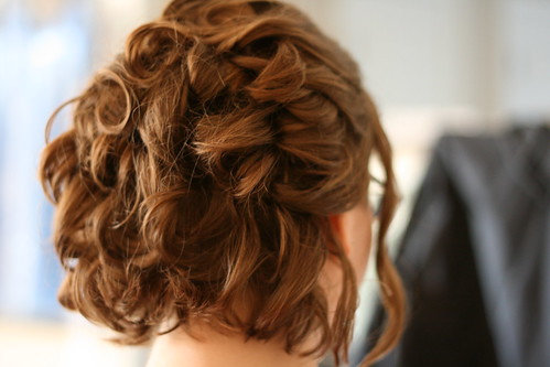 Some cool bridesmaid hairstyles images: