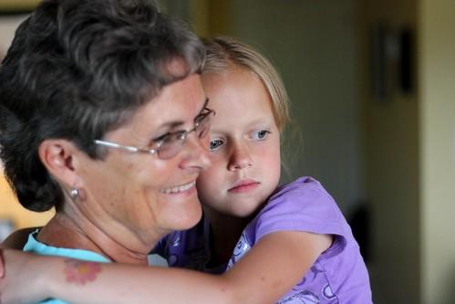 Abby & Grandma