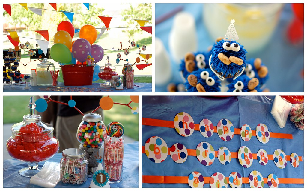 1st Birthday Party Ideas For One Year