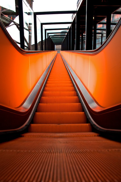 Escalator in Zeche Zollverein