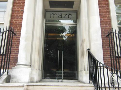 Outside @ Maze