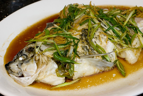 Steamed Buffalo Fish
