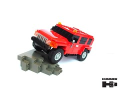 Hummer H3 (pitrek02) Tags: road lego offroad 4x4 off hummer lugpol