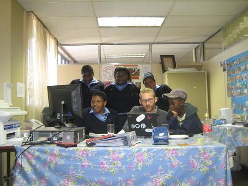 Kakaretso staff (plus Andy & Mois nephew)