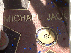 Michael Jackson's Star Close Up