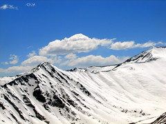 Vew from Khardungla pass - keedap
