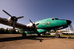 C-54 C-GCTF (Jason Pineau) Tags: airplane buffalo aircraft aviation airways douglas skymaster dc4 c54 hayriver yhy cyhy
