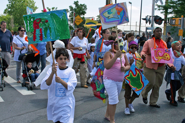 Fish Parade celebrates Hunts Point