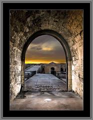 The doors of perception (Saur) Tags: door holiday color castle contrast spain nikon fortaleza painter castillo hdr huxley menorca arenys sauri thedoorsofperception specialtouch platinumheartaward platinumpeaceaward sauriaj