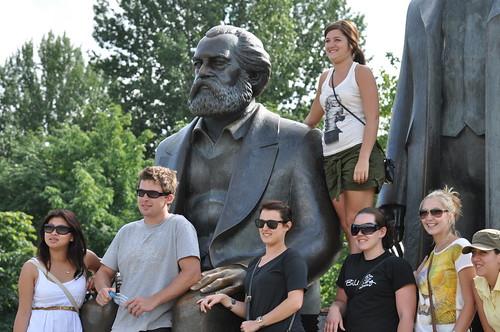 Gruppenfoto mit Karl