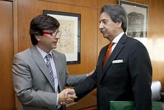 Reunió ambaixador de Portugal a Andorra amb el ministre de Finances i Funció Pública.03-06-2011 (Govern d'Andorra) Tags: portugal andorra damas cinca pública finances ministre