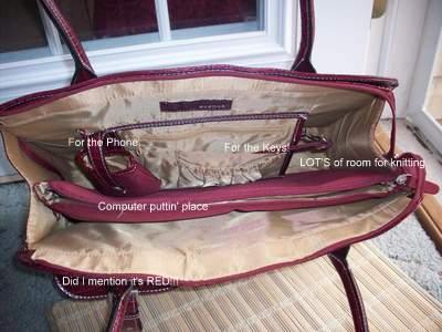 My new bag-inside