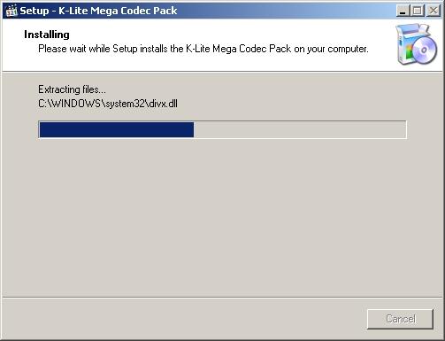 Instalando K-lite Mega Codec Pack - Tela 8
