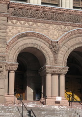 Detail of old Toronto City Hall