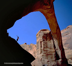 Leap of Faith (StevensonPhotography.com) Tags: stevensonphotography arizonapixcom stevensonphotographycom weathered water vacation travel tranquility tranquil swimming swim summer stone southwest silhouette scenic sandstone rocks rainbowbridge peaceful paradise outoftheway outdoors outdoor northernarizona naturewatcher mothernature lonely leap landscape lakepowell jump journey hill hiking hikers hiker hike fall edge dive desertsouthwest danger coloradoriver canyon beautiful backroads arizonahighways arizona alone adventure shadow shadows