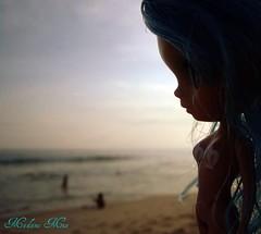 Olhem quem foi à praia...=0)