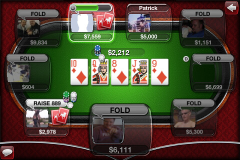 Straight Flush on the River